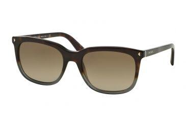 1d2712d984 Prada JOURNAL PR12RS Sunglasses TKT1X1-56 - Grey Havana Gradient Frame