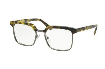 09b000d7444 Prada JOURNAL PR15SV Eyeglass Frames UBL1O1-52 - Yellow Havana Frame