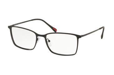 47837558eb0 Prada LIFESTYLE PS51LV Eyeglass Frames 1AB1O1-56 - Black Frame