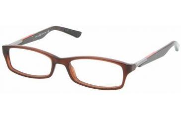 Prada PS03BV Bifocal Prescription Eyeglasses ACV1O1-5116 - Beaver