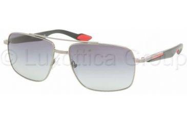 Prada PS51MS Single Vision Prescription Sunglasses PS51MS-5AV3M1-5815 - Lens Diameter 58 mm, Frame Color Gunmetal