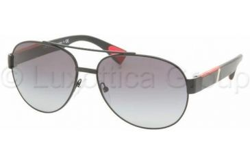 Prada Linea Rossa PS52MS Sunglasses 1BO3M1-6015 - Demi-shiny Black Gray Gradient