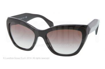 d330e800dd Prada POEME PR02QS Sunglasses 1AB0A7-56 - Black Frame