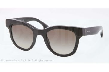 Prada PORTRAIT PR27PS Progressive Prescription Sunglasses PR27PS-1AB4M1-49 - Lens Diameter 49 mm, Lens Diameter 49 mm, Frame Color Black
