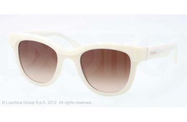 Prada PORTRAIT PR27PS Progressive Prescription Sunglasses PR27PS-7S36S1-49 - Lens Diameter 49 mm, Lens Diameter 49 mm, Frame Color Ivory