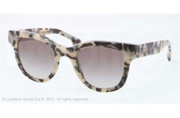 Prada PORTRAIT PR27PS Progressive Prescription Sunglasses PR27PS-KAD0A7-49 - Lens Diameter 49 mm, Lens Diameter 49 mm, Frame Color White Havana