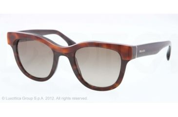 Prada PORTRAIT PR27PS Progressive Prescription Sunglasses PR27PS-MA41X1-49 - Lens Diameter 49 mm, Lens Diameter 49 mm, Frame Color Top Light Havana/havana