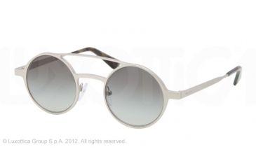 7f98f384a4 Prada PORTRAIT PR69OS Sunglasses 1AP0A7-45 - Silver Demi Shiny
