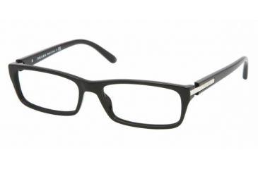 7ed7ba1b4b5 Prada PR 05NV Eyeglasses Styles - Black Frame w Non-Rx 53 mm Diameter