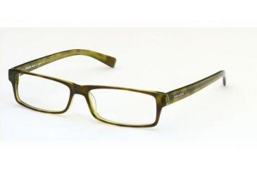 8ecfa65d395a8 Prada PR 07E Eyeglasses Styles - Tortoise-Green Frame w Non-Rx 52