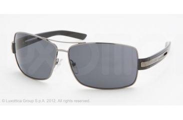 Prada PR54IS Bifocal Prescription Sunglasses PR54IS-5AV5Z1-64 - Lens Diameter 64 mm, Frame Color Gunmetal