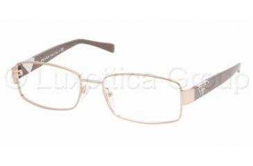 Prada PR 56NV Eyeglasses Styles - Brown Frame w/Non-Rx 51 mm Diameter Lenses, 4AC1O1-5116