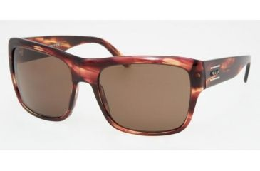 Prada PR02MS #ZW08C1 - Chestnut Frame, Brown Lenses