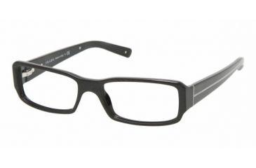 Prada PR02MV #7BN1O1 - M:silver P:black Frame, Demo Lens Lenses
