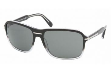 Prada PR02NS #ZXA1A1 - Black Gradient Crystal Gray Frame