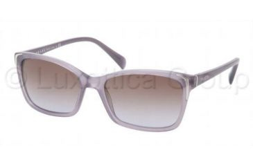Prada PR02OS Single Vision Prescription Sunglasses PR02OS-HA16P1-5417 - Lens Diameter 54 mm, Frame Color Opal Violet