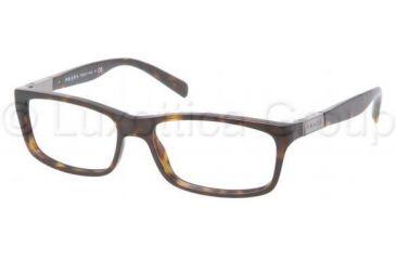 Prada PR02OV Single Vision Prescription Eyewear 2AU1O1-5316 -