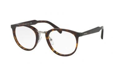 f1df2b8992 Prada PR03TV Eyeglass Frames 2AU1O1-52 - Havana Frame