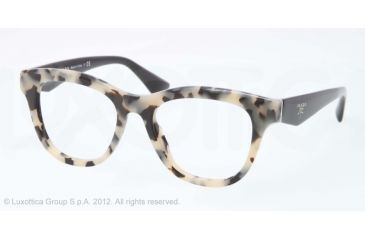 6bfc707fc2 ... clearance prada pr04qv progressive prescription eyeglasses kad1o1 49  white havana frame 4b9c5 0a9cf