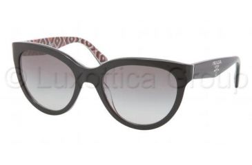 Prada PR05PS Bifocal Prescription Sunglasses PR05PS-MAS0A7-5520 - Lens Diameter 55 mm, Frame Color Top Black