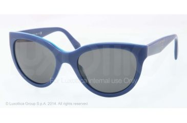 Prada PR05PS Bifocal Prescription Sunglasses PR05PS-RO11A1-55 - Lens Diameter 55 mm, Frame Color Top Blue/Azure