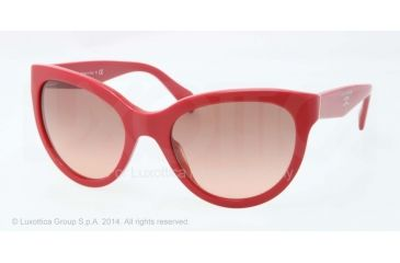 Prada PR05PS Bifocal Prescription Sunglasses PR05PS-RO20A5-55 - Lens Diameter 55 mm, Frame Color Top Red/orange