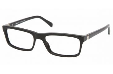 Prada PR06NV #1AB1O1 - Gloss Black Frame, Demo Lens Lenses