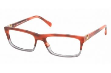 Prada PR06NV #ZY81O1 - Tortoise Bicoloured / Red Frame, Demo Lens Lenses