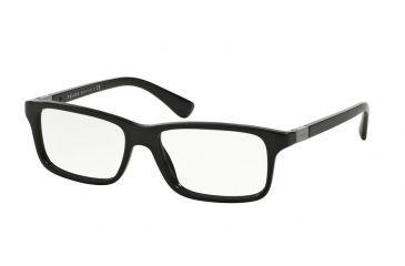 271276043e Prada PR06SV Eyeglass Frames 1AB1O1-54 - Black Frame