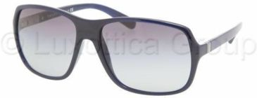 Prada PR07NS Sunglasses 0AX3M1-6116 - Blue Gray Gradient