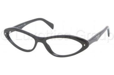 Prada PR08OV Bifocal Prescription Eyeglasses 1AB1O1-5516 - Gloss Black