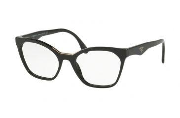 5d5d3cb1d4dc Prada PR09UV Eyeglass Frames 1AB1O1-52 - Black Frame