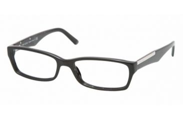 Prada PR11MV #1AB1O1 - Gloss Black Frame, Demo Lens Lenses