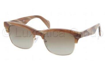 Prada PR11PS Bifocal Prescription Sunglasses PR11PS-MAQ1X1-5419 - Lens Diameter 54 mm, Frame Color Light Horn