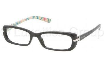 Prada PR13NV Single Vision Prescription Eyewear 1AB1O1-5117 -