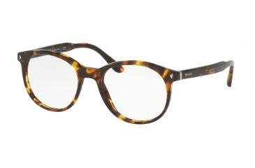 a68715d887 Prada PR14TV Eyeglass Frames VAU1O1-50 - Havana Frame