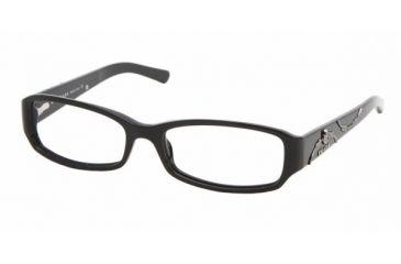 Prada PR15LV #1AB1O1 - Gloss Black Demo Lens Frame