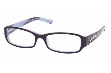 Prada PR15LV #7ON1O1 - Top Violet On Lilac Demo Lens Frame