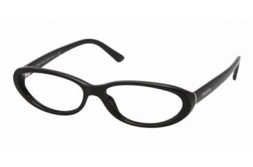 Prada PR15MV #1AB1O1 - Gloss Black Demo Lens Frame