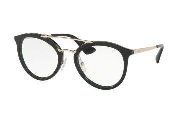 ba16e9ca313a Prada PR15TV Eyeglass Frames 1AB1O1-50 - Black Frame