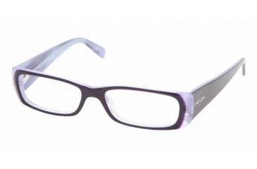 Prada PR17LV #7ON1O1 - Top Violet On Lilac Frame