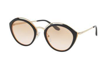 e73a2326fbba sale prada pr18us sunglasses wu0232 53 blue yellow pale gold frame pink  d7447 34b89
