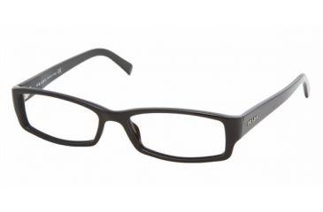 e9044358ff6 Prada PR19LV  1AB1O1 - Gloss Black Demo Lens Frame