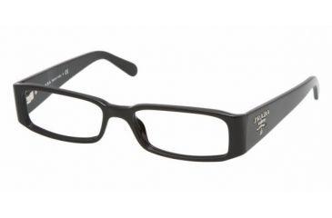 Prada PR22MV #1AB1O1 - Black Demo Lens Frame 5116