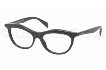 Prada PR23PV Eyeglass Frames 1AB1O1-5216 - Black Frame