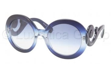 Prada PR27NS Bifocal Prescription Sunglasses PR27NS-EAB8Z1-5522 - Lens Diameter 55 mm, Frame Color Gradient Blue / Opal Azure