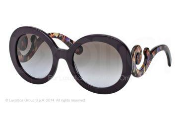 Prada PR27NS Sunglasses ROM6P1-55 - Violet Frame, Violet Gradient Brown Lenses