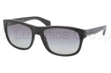 Prada PR29NS Single Vision Prescription Sunglasses PR29NS-1AB3M1-5818 - Frame Color Black, Lens Diameter 58 mm