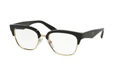 71679c1e0fd9 Prada PR30RV Eyeglass Frames 1AB1O1-52 - Black Frame