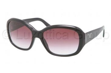 Prada PR31NS Progressive Prescription Sunglasses PR31NS-1AB4V1-5816 - Lens Diameter 58 mm, Frame Color Black